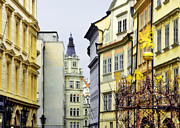 Prague Towers Prints - Prague - Walking in the footsteps of kings Print by Christine Till