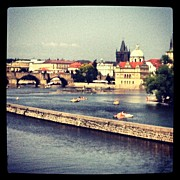 Czech Republic Art - Prague by Candice Walsh
