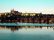 Prague Castle Art - Prague Castle by Brittany Spitler