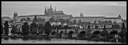 Charles Bridge Prints - Prague Castle Print by Jason Wolters