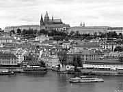 Prague Castle Print by Keiko Richter