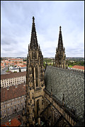 Prague Photos - Prague Castle by Madeline Ellis
