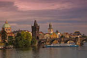Charles Bridge Prints - Prague Print by Dennis F Buehler Photography