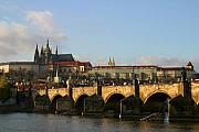 Charles Bridge Prints - Prague Print by Joe Burns
