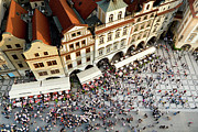 Throng Posters - Prague Old Town Square Poster by Artur Bogacki