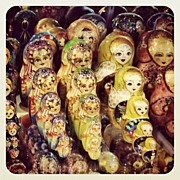 Czech Republic Art - #prague #russiandolls by Elizabeth Marchant