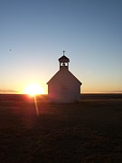 Amber Atkinson - Prairie Church Sunset