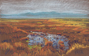 Water Pastels - Prairie by Donald Maier