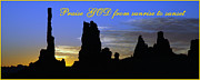 Praise Art - Praise God from Sunrise to Sunset II by George Buxbaum