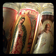 Ttv Prints - Prayer Candles Print by Melissa Wyatt