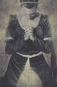 Vintage Texture Prints - Prayer Print by Joana Kruse