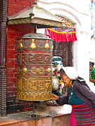 Stephanie Olsavsky - Prayer Wheel