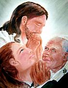 Jesus Art Paintings - Prayers of the Faithful by Sandy Ryan