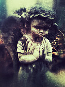 Angel Digital Art - Praying Angel by Amanda Makepeace