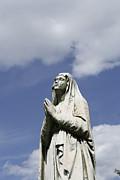 Praying In The Sky.03 Print by John Turek