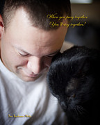 Owner Photo Posters - Praying Together Poster by Tom Buchanan