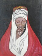 Rejeena Niaz - Praying Woman-Oil...