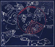 Ursa Major Prints - Precession Of The North Celestial Pole Print by Sheila Terry
