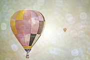 Girl Room Prints - Precious Balloon Sky Print by Andrea Hazel Ihlefeld