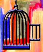 .freedom Mixed Media Metal Prints - Precious Freedom Metal Print by Patrick J Murphy