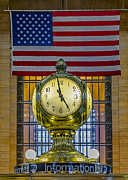 Railway Terminal Framed Prints - Precious Time and Colors Framed Print by Susan Candelario