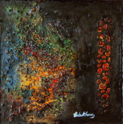 Postcard Painting Originals - Precious2 by Farzali Babekhan