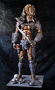 Figures Sculptures - Predator Movie Prop by Craig Incardone