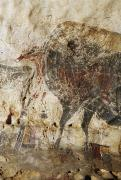 Mural Photos - Prehistoric Artists Carved Images by Sisse Brimberg