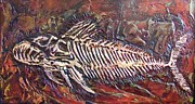 High Relief Reliefs Originals - Prehistoric by Gary Wynn