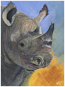 Rhinoceros Originals - Prehistoric Present by Barbi  Holzmann