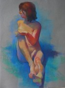 Live Pastels Originals - Prelude by Evelyn  M  Breit