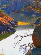 Watson Lake Photo Posters - Prescott Poster by Robert Hooper
