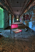 Chair Photo Prints - Presence Print by Evelina Kremsdorf