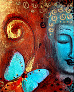 Buddha Paintings - Present Moment by Tara Catalano