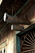 Antiquated Prints - Preservation Hall Print by Susie Hoffpauir