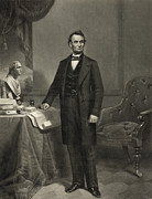 Us Presidents Prints - President Abraham Lincoln Print by International  Images