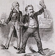 Discrimination Art - President Arthur, Vetoed The 1882 Bill by Everett