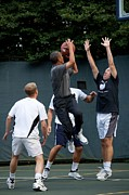 Presidents Art - President Barack Obama Takes A Shot by Everett