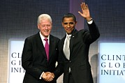 President Barrack Obama Posters - President Bill Clinton, President Poster by Everett