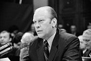 Resignation Prints - President Gerald Ford Appearing Print by Everett