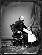 James Garfield Framed Prints - President James A. Garfield Framed Print by Everett