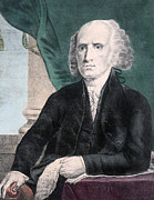 James Madison Prints - President James Madison - Fourth President of the USA Print by International  Images