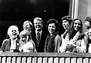Featured Art - President Jimmy Carter And His Family by Everett