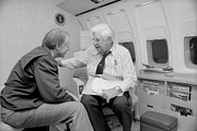 Carter House Prints - President Jimmy Carter Talking Print by Everett
