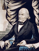President Adams Posters - President John Quincy Adams Poster by International  Images