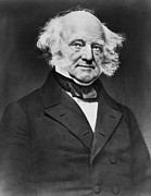 Van Buren Framed Prints - President Martin Van Buren Framed Print by International  Images