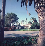 Clemente Photo Acrylic Prints - President Nixons Home In San Clemente Acrylic Print by Everett