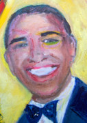 Barack Obama Painting Prints - President Obama Print by Patricia Taylor