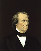 President Johnson Prints - President of the United States - Andrew Johnson Print by International  Images
