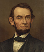U S Presidents Framed Prints - President of the United States of America - Abraham Lincoln  Framed Print by International  Images